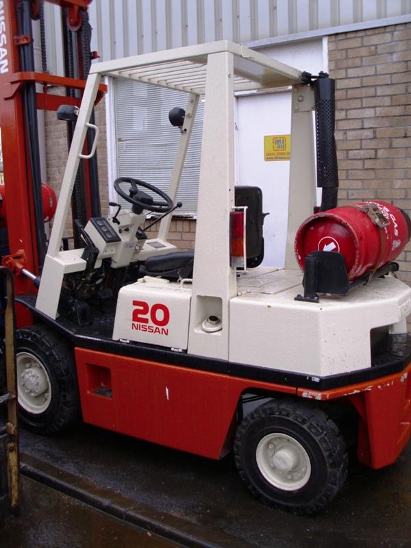 Lift4Less LPG Gas NISSAN PH02A20U Forklift For Sale UK